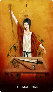 「魔術師」カード