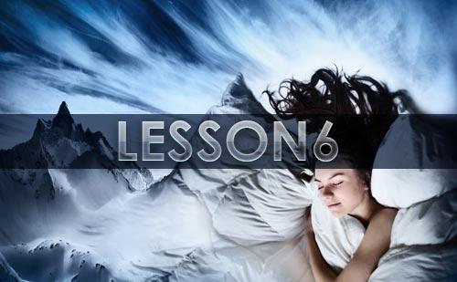 『夢の教え』12LESSONの~LESSON6 意外な夢のシンボル~