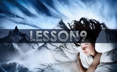『夢の教え』12LESSONの~LESSON9 怖い夢~