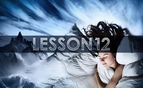『夢の教え』12LESSONの~LAST LESSON 夢と現実~