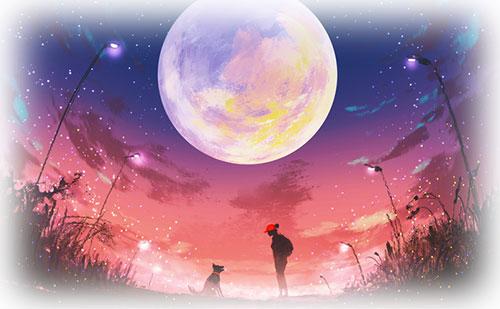 満月で読む天空模様【2017年12月】